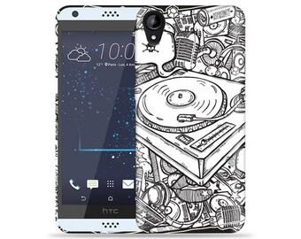 HTC Desire 530 Case - D530 Case #DJ Cool Design Hard Phone Case
