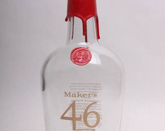 Markers 46 Empty Whiskey Bottle