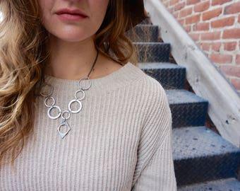 Steampunk Loop Necklace