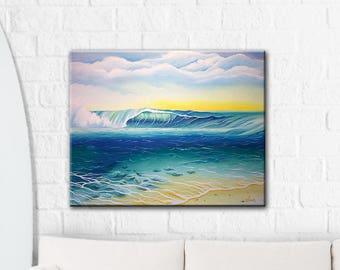 Reef Bowl - Original Oil Painting