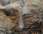Fancy Flatware Long Necklace