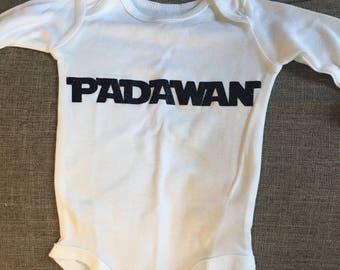 Padawan - Star Wars Baby Onesie