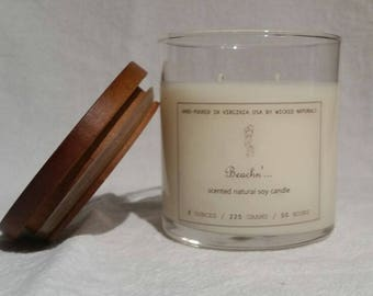 Natural Soy Candle - Beachn'