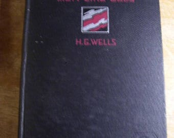 First Edition Men Like Gods H.G. Wells 1923