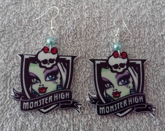 Frankie (Monster high) earring