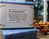 Pearberry - Natural Soap - Soap - Organic Soap - Natural Skincare - Vegan-Soap - Homemade Soap - Cold Process Soap - Nabbies Handmade