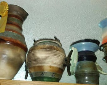 Hand crafted ceramic pottery