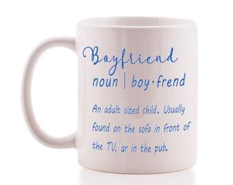 Funny 'Boyfriend' Deifinition Mug