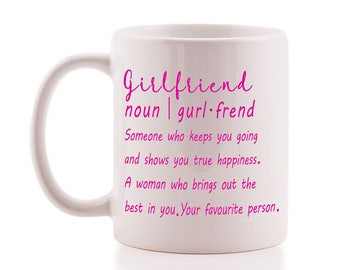 Cute 'Girlfriend' Definition Mug