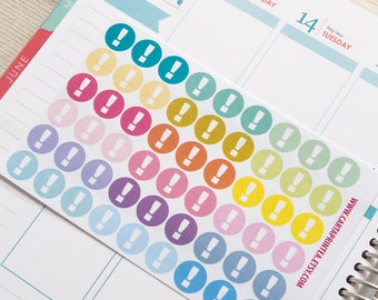 Repositionable important tasks stickers, to do list stickers, checklist planner stickers, reminder, eclp filofax happy planner kikkik