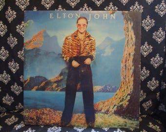 Elton John Caribou Album Record LP
