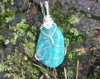 Warrior Goddess Amazonite Necklace