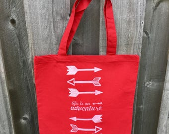Life is an adventure Tote