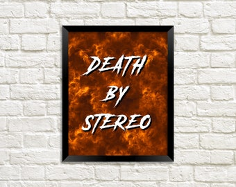 THE LOST BOYS quote - Death by Stereo - Movie Quote - Instant Digital Download - 8x10 Photo Print