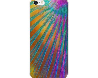 Parrotfish fin design iPhone 5/5s/Se, 6/6s, 6/6s Plus Case