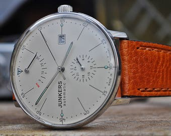 Junkers Automatic Bauhaus Ref. 6060 Gents Watch In Box-Stunning Piece!
