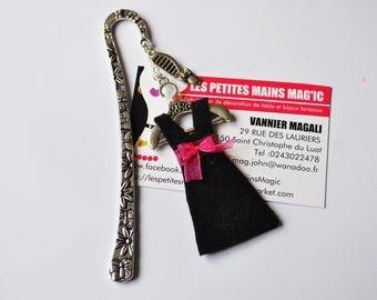 the little black dress theme bookmark