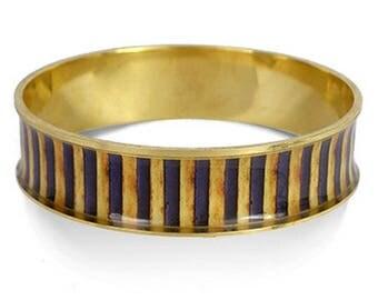 King Tut Bangle Cuff Bracelet II - Egyptian Pharoah 18th Dynasty