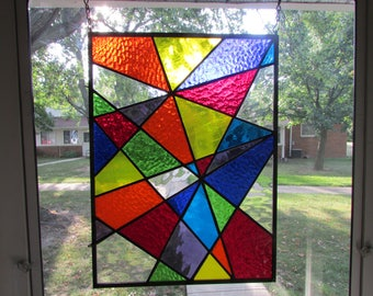 Staind Glass Panel