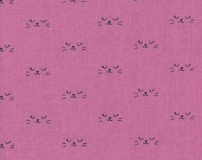Lil' Monsters by Cotton + Steel - Neko Pink - Cotton Woven Fabric
