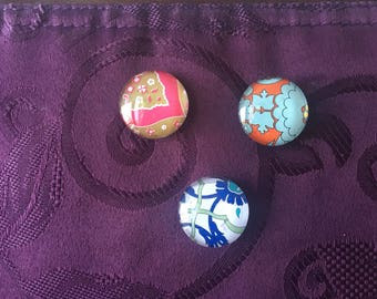 Turkish Pattern Glass Magnets, Collection 2