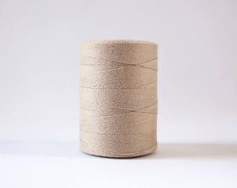 Latte Cotton Warp Thread for Weaving