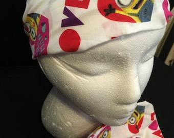 Valentine's Day minions headband