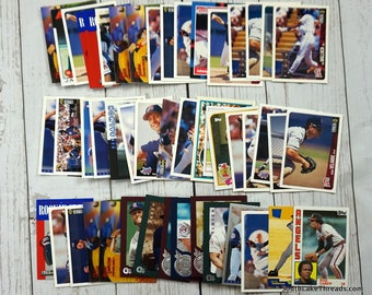 Vintage California Angels Baseball Cards 1980s & 90s Lot of 50 - MLB Baseball Cards Trading Cards Lot