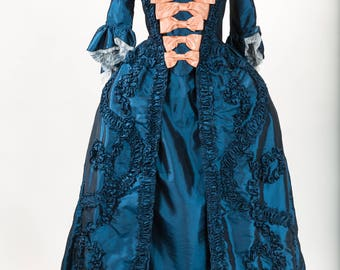18th century dress - dress FRAGONARD - dress in French