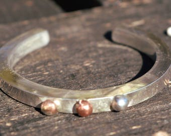 THICK SOLID sterling silver bracelet ,sterling silver bangle,modern,minimalist,contemporary,rustic,silver 925 bracelet,handforged,unique