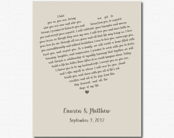 First Anniversary Paper First Anniversary Gift for Him First Anniversary Gift for Her Personalized Engagement Gift for Fiance Custom Present