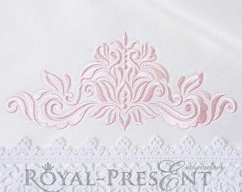 Machine Embroidery Design Ornamental Elegant Decor III - 3 sizes