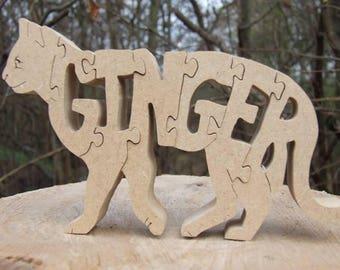 cat gift, ginger cat, ginger cat ornament, ginger cat gift, wooden ginger cat, unique cat gift, gift for cat lover, pet gift, animal gift