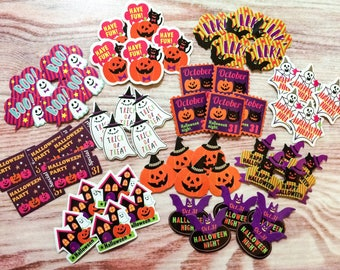 Halloween Sticker Flakes - Pop Theme