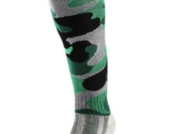 Samson® Camouflage Camo Funky Socks Sport Knee High Sport Football Rugby Soccer