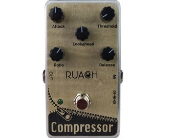 Ruach DC1 Zip Compressor Guitar Effects Pedal