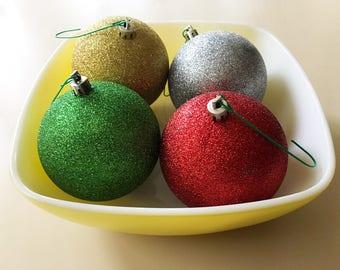 SALE Christmas Ornaments Vintage Ornaments Colorful Large Ornaments Vintage Christmas Decor Ornament Holiday Décor Christmas Ornaments