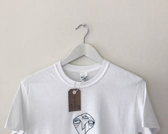 Hand embroidered tshirt