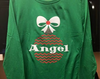 Personalized Ornament long sleeve shirt