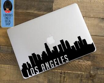 Los Angeles City Skyline Macbook / Laptop Decal