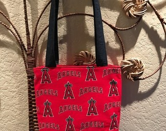 Angels Baseball Red Shoulder Bag