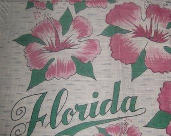 Souvenir of Florida Handkerchief