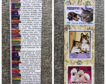 Pretty Kitty Bookmark