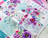 Floral Daydream | A la Carte | Planner stickers for Erin Condren/ Happy Planner/ A5/ Personal etc Planners