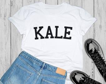 Kale shirt, kale, girls shirt, woman shirt, vegetarian shirt, ladies tshirt, kale tshirt, kale tee, vegan tshirt