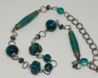Lovely glass Beaded Necklace