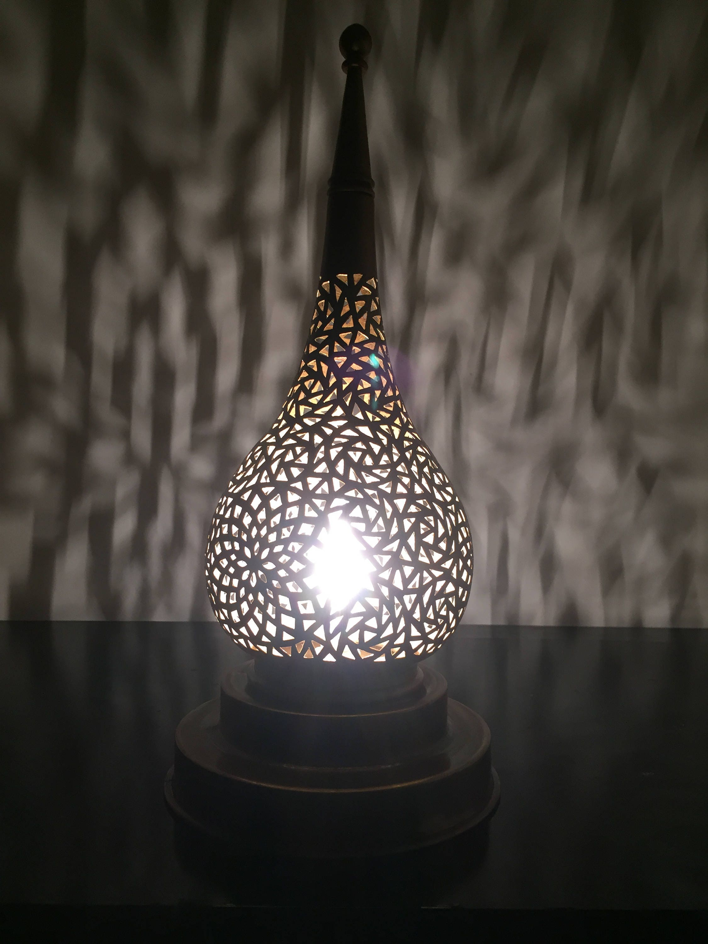 arabic tricolor fanoos fbx blend lamp decor dae model models mtl obj furniture cgtrader