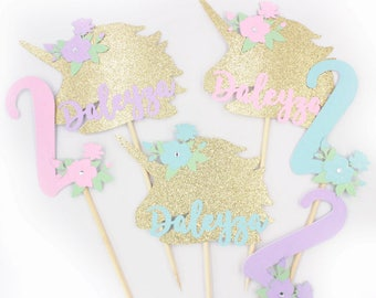 Unicorn Centerpiece, Unicorn Birthday, Unicorn Party, Unicorn Decorations - Pegasus - Birthday - Unicorn Baby Shower