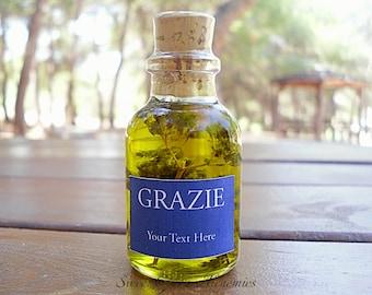 125 pcs Italian Style Olive Oil Favors (25ml/0.85oz), Olive Oil Wedding Favors, Olive Oil Baby Shower Favors, Olive Oil Bridal Shower Favors