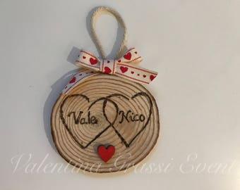 Customizable Wood Discs